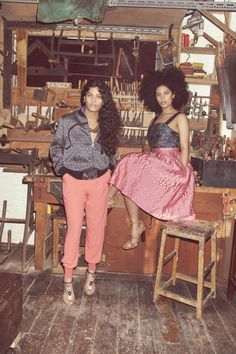 Mid-Monday Music: Afrobeat Queens @IbeyiOfficial   #style #fashion #bohemian #editorial #fashioneditorial #music #soul