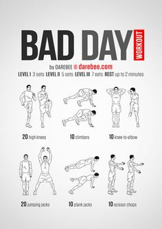 Bad Day Workout / Everyone knows travel has its ups and downs, but that doesn't stop you from working out and turning it around !