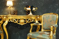 All That Glitters Royal interiors Golden/Silver