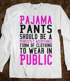 Pajama Pants Funny Shirt