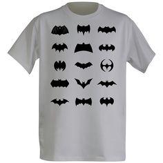 All Batman Logos Shirt