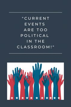I am a huge believer that we should not only be educating our students with content but teaching them to be critical of the world around, civically engaged in politics, and empathize with individuals in their everyday lives.