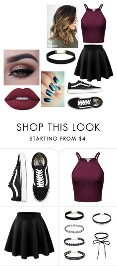 """""""Untitled #1859"""" by hey-mate on Polyvore featuring Vans and Lime Crime"""