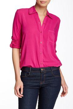 Hi-Lo Long Sleeve Shirt  Sponsored by Nordstrom Rack.