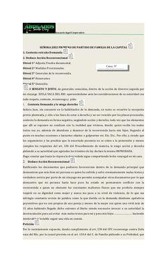 Asesoría legal Corporativa SEÑORA JUEZ PRIMERO DE PARTIDO DE FAMILIA DE LA…