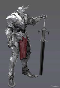 Paladin warrior reference fantasy sword and sorcery Fantasy Character Design, Character Design Inspiration, Character Concept, Character Art, Character Ideas, Fantasy Armor, Dark Fantasy Art, Medieval Fantasy, Fantasy Sword