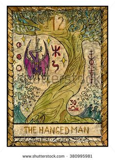 What Are Tarot Cards? Made up of no less than seventy-eight cards, each deck of Tarot cards are all the same. Tarot cards come in all sizes with all types Hanged Man Tarot, The Hanged Man, Major Arcana Cards, Tarot Major Arcana, Vintage Tarot Cards, Mystic Symbols, Tarot Astrology, Engraving Illustration, Man Illustration