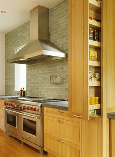 Create a Mini Spice Pantry in a Wall, Drawer, Island or Gap Between Cabinets