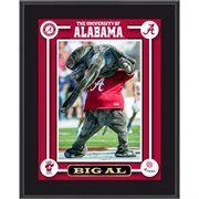Alabama Crimson Tide Big Al Mascot 10.5'' x 13'' Sublimated Plaque