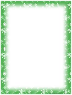 Free Christmas Stationary Templates | FREE Printable Christmas Snowflake Stationery