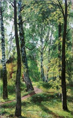 Ivan Shishkin (1832-1898): Deciduous Forest, 1897