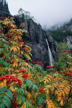 Bridalveil Falls, Telluride, Colorado.