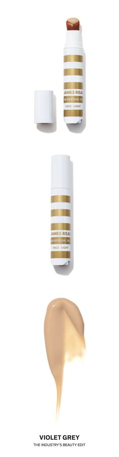 James Read BB Gradual Tan Face Pen | James Reads' BB Cream and Gradual Tan-in-a-pen is a primer that will not only perfect skin tone, cover imperfections, hydrate, illuminate and protect skin with sunscreen, but it will also gradually deliver a touch of tan color to the face giving the complexion a flawless glow. | Shop now on #VioletGrey, The Industry's Beauty Edit