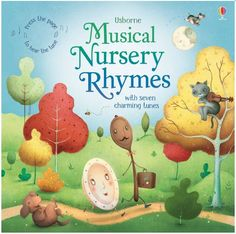 Press the buttons on the pages of this delightful book to hear the tunes for seven well-loved nursery rhymes, including Humpty Dumpty, Little Bo-peep, Sing a Song of Sixpence and Hey Diddle Diddle. Includes the words for each rhyme and delightful illustrations by Richard Johnson with fingertrails and cut-out shapes to discover.