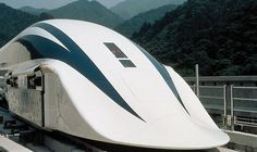 Japanese Floating Train Magnetically Levitates to 311 MPH
