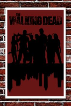 The Walking Dead Print  Based on the AMC TV Show by nickm717, $11.99