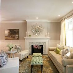 Benjamin Moore Muslin Paint Design Ideas, Pictures, Remodel, and Decor