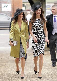 Kate e Pippa Middleton foto