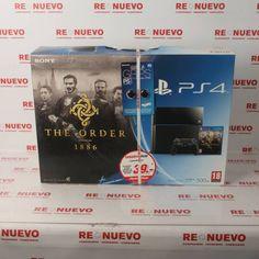Cónsola PS4 A ESTRENAR Edición THE ORDER 1886 E277855 | Tienda online de segunda mano en Barcelona Re-Nuevo