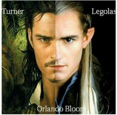 -Will Turner and Legolas- (Orlando Bloom) Will Turner, Hot Actors, Actors & Actresses, Orlando Bloom Legolas, Elfa, O Hobbit, Movies And Series, Tauriel, Middle Earth