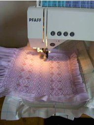 Smocking....cheaters!!! - How to Hoop and Sew the Smocking Designs on an Embroidery Machine