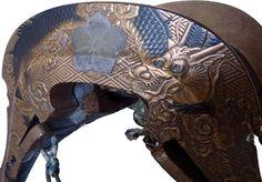 JAPANESE KOGAI   japanese lacquer saddle