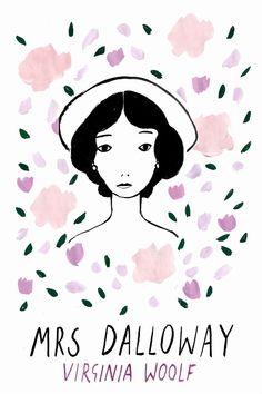 Artist creates beautiful illustrations of heroines from classic literature | Creative Boom