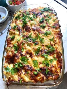 Lasagna, Quiche, Food To Make, Breakfast, Ethnic Recipes, Morning Coffee, Quiches, Lasagne
