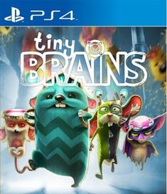 Tiny Brains Game play Tiny Brains revolves around the adventures of four lab animals — a bat, a mouse, a rabbit and a hamster. Each lab animal possesses a unique psychic ability, thanks to an experiment gone awry. The bat can push objects with his voice, the hamster can freeze air, the rabbit can attract …