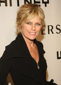 Patti Hansen---layered, shaggy