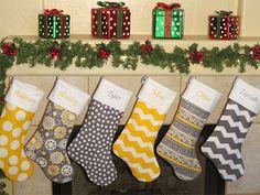 Unique Yet Cheap Large Christmas Stocking Patterns & Ideas 2013/ 2014 | Girlshue