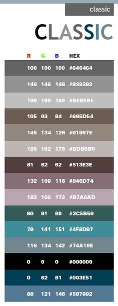 A Prettier Digital Color Reference   Rgb Colors  Kolor