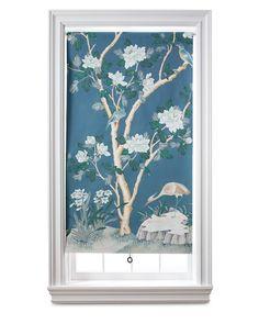 Wallpaper Window Shade - Martha Stewart Home & Garden