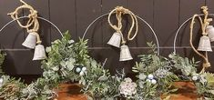 Kerstworkshops 2019 gezellig en leuk Christmas Flowers, Christmas Home, Christmas Decorations, Xmas, Winter Wonder, Wreaths, Creative, Holiday, Crafts
