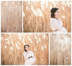 maternity photos but like the idea of that wheat