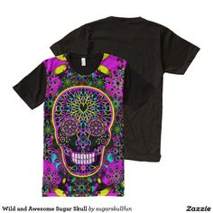 4c34dddd0 863 Best HALLOWEEN ALL-OVER PRINT T-SHIRTS images | Prints, Sugar ...