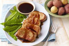 Côtelettes de porc glacées à l'érable et au balsamique