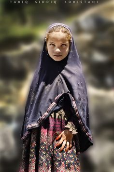 Dardic little girl Taken at Bahrain, Swat Valley P A K I S T A N
