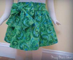 Image of Sugarplum Skirt Pattern + underskirt pattern, baby to teen