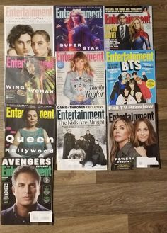 10 Entertainment Weekly magazines Throne on Mercari Wall Entertainment Center, Entertainment Weekly, Fall Tv, Captain Marvel, Magazines, About Me Blog, Entertaining, Journals, Funny