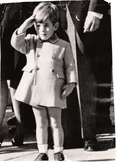 John F Kennedy Jr. original photo John John saluting his father's casket ICONIC