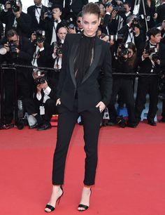 L'Oréal Paris spokesmodel Barbara Palvin in Alexandre Vauthier haute couture Spring/Summer 2013