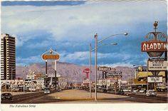 Postcard: The Fabulous Strip, Las Vegas,NV