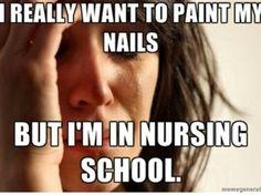 No black nail polish for 9 more months