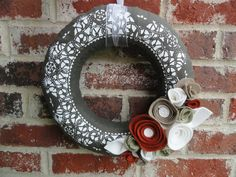 Winter/holiday wreath