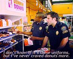 I'm so uncomfortable with Shawn being a cop!!!