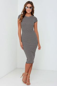 Billabong Twist of Fate Dress - Midi Dress - Short Sleeve Dress - $49.95
