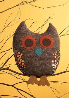 Tweedie Owl Softie