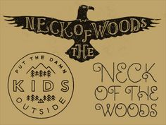 Neck Of The Woods by Keith Davis Young