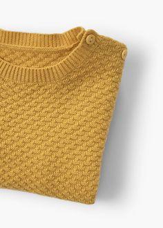 Camisola algodão textura | MANGO KIDS